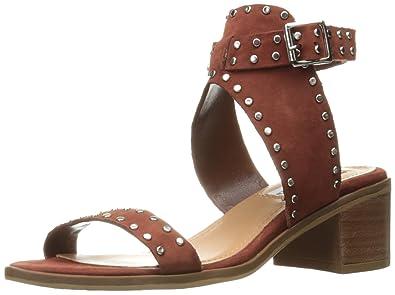 Steve Madden Women's Gila Dress Sandal, Rust Nubuck, ...