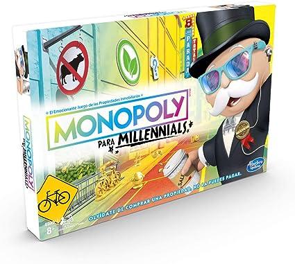Monopoly- Millenials (Versión Portuguesa) (Hasbro E4989190): Amazon.es: Juguetes y juegos