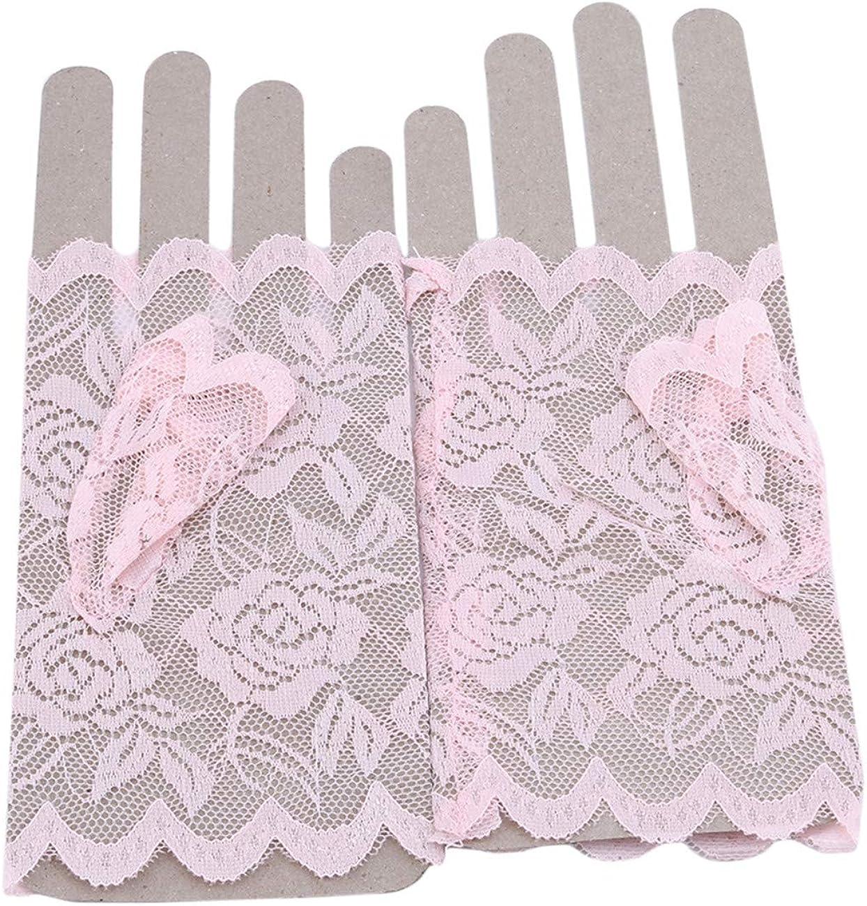 ZALING Women Lace Gloves...