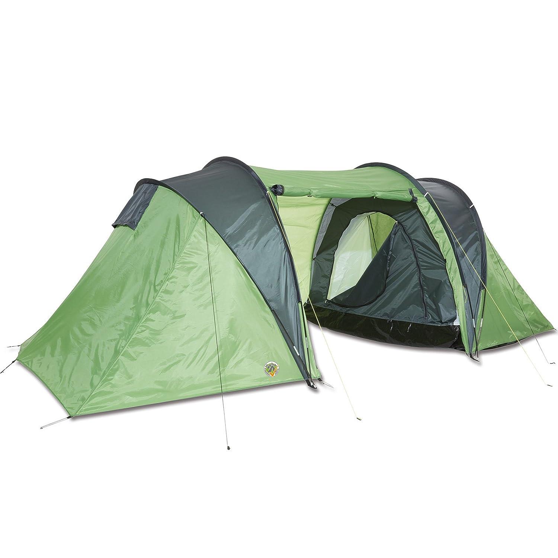 Igluzelt für 4 Personen Doppeldachzelt reflektierendes Gewebe inklusive Abspannleinen • Zelt Camping Festival Garten Trekkingzelt Kuppelzelt Iglu