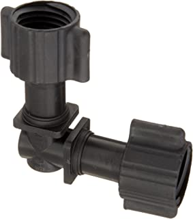 "product image for Mister Landscaper MLF-35 1/2"" Poly Drip Irrigation Elbow Fitting"