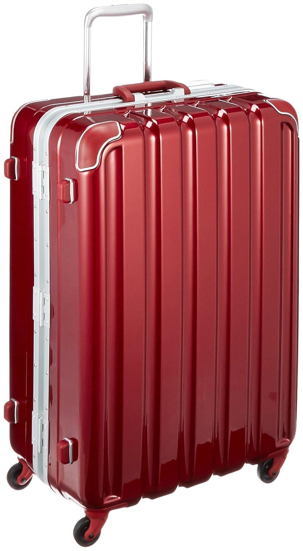 [シフレ] フレームハードスーツケース グリスパックキャスター搭載 保証付 93L 66cm 4.9kg GRE1043-66 B01JOG5LAE メタリックワイン メタリックワイン