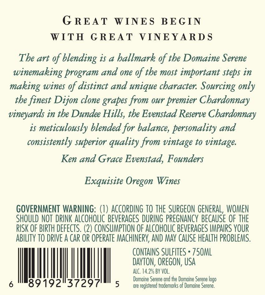 Domaine Serene Chardonnay 2014 (1 x 0.75 l): Amazon.de: Bier, Wein ...