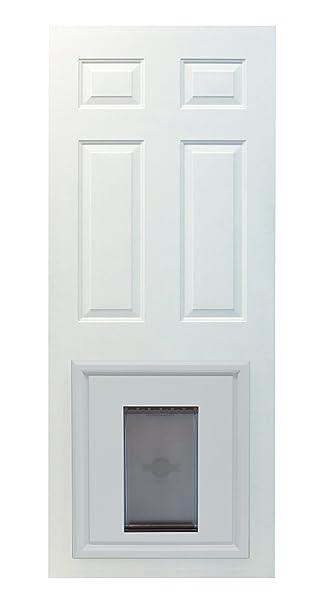 Amazon petsafe panel pet door paintable white large pet petsafe panel pet door paintable white large eventshaper
