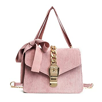 5124f6e16a9 kaoling Pequeños Bolsos Mezclilla Bolsos Cruzados Cadena Bolsos Mujer Bolsos  Mensajero Hombro Las señoras Pink  Amazon.es  Deportes y aire libre
