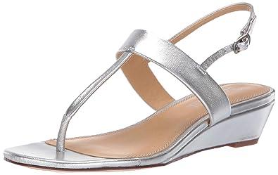 5238c2e96f Splendid Women's Swain Sandal, Silver/Metallic, ...