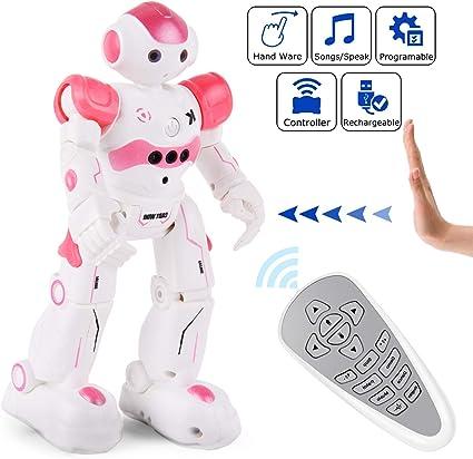Flyglobal Smart Robot Toys Remote Control Robot,Rc Robot For Kids,Walking Dancin