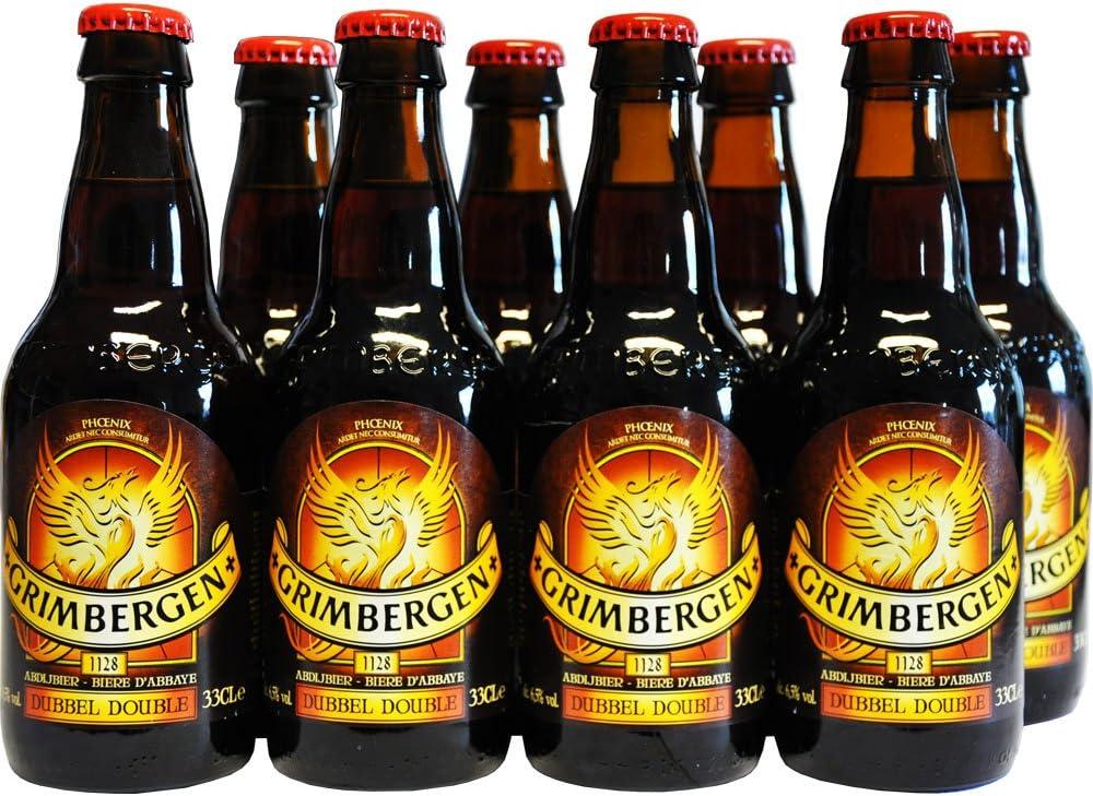 Cerveza Belga Grim Bergen dubbel 6,5% vol: Amazon.es: Alimentación y bebidas