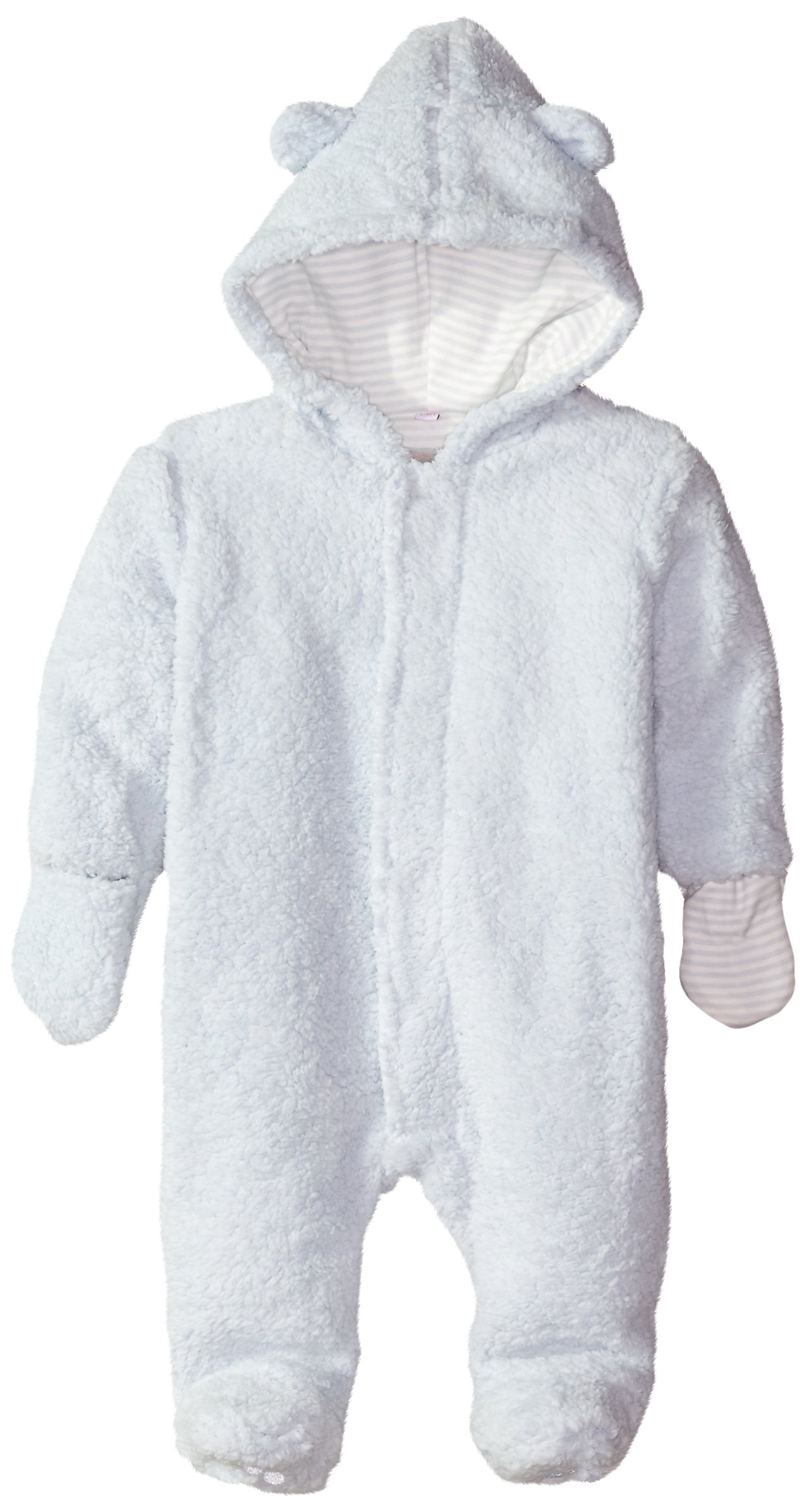 Magnificent Baby Baby Boys' Blue Sorbet Hooded Fleece Pram, New Born by Magnificent Baby