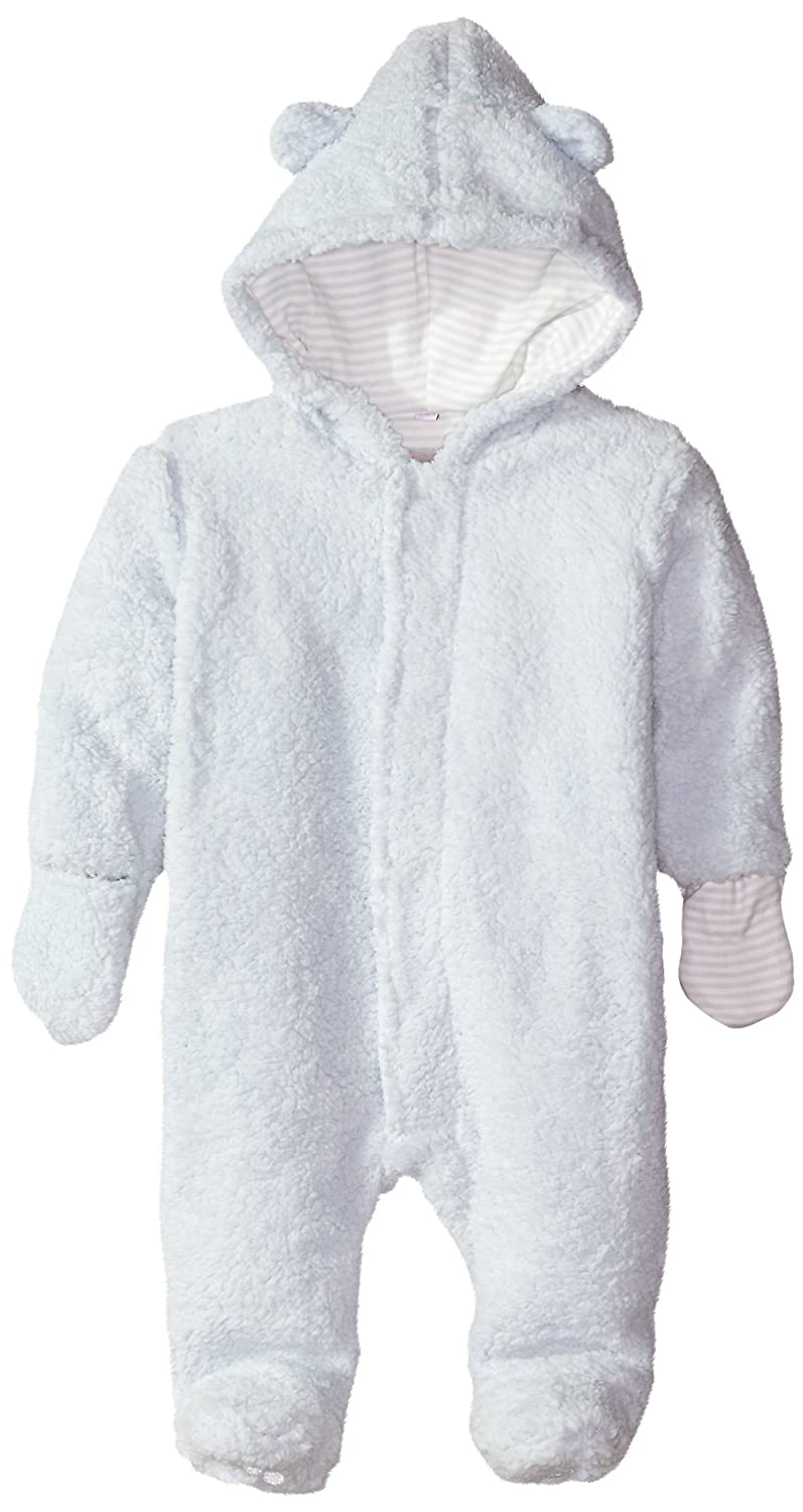 Magnificent Baby Blue Sorbet Hooded Fleece Pram, Newborn 5041-B
