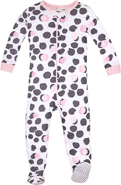 Unisex Footed or Footless Stretchie Pajamas Organic Baby Girl Sleepwear Boy