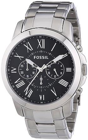 Fossil FS4736 XL Edelstahl Chronograph