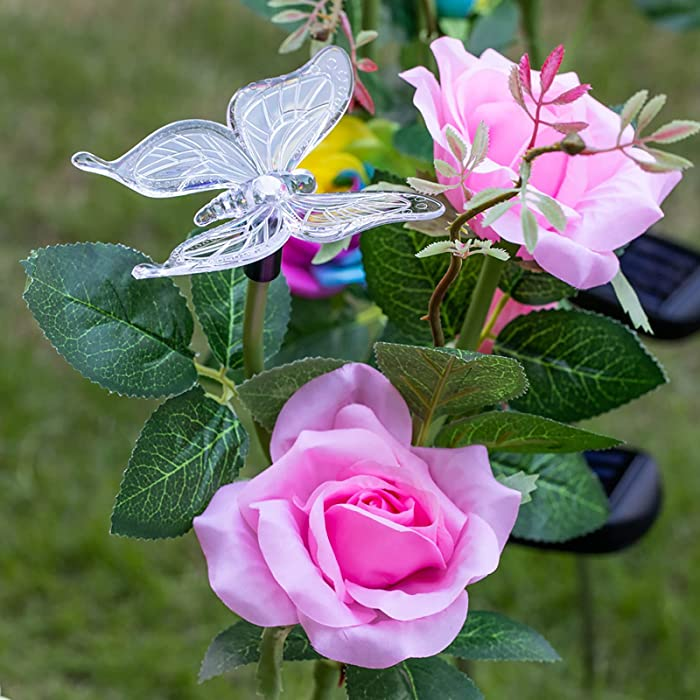 Top 10 Solar Garden Lights Outdoor Decorative Roses