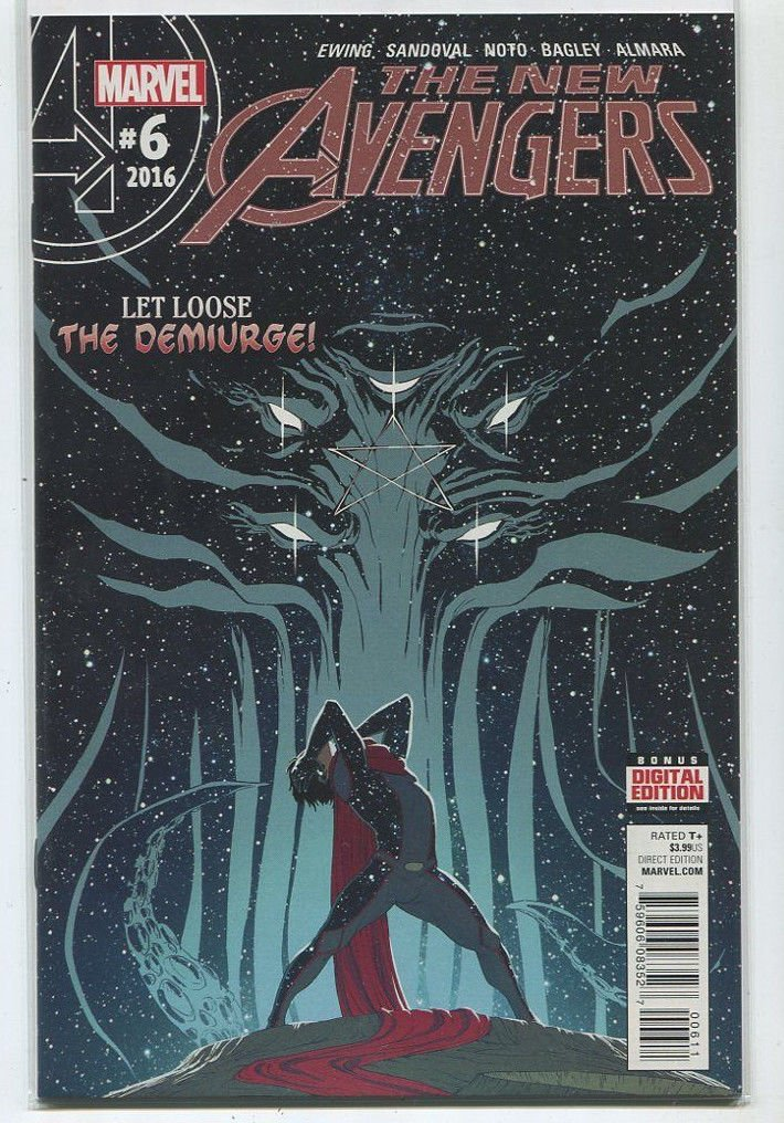 The New Avengers # 6 2016 Near Mint Let Loose The Demiurge Marvel Comics MD8