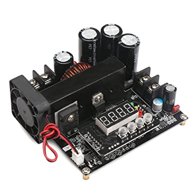 Drok Numerical Control Regulator DC 8V-60V to 10V-120V 15A Boost Converter, Constant Step Up Module Adjustable Output 48V 24V 12V DC Power Supply with Led Display: Industrial & Scientific