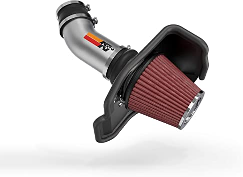Performance HEATSHIELD COLD AIR INTAKE KIT FIT 2011-2019 DODGE CHARGER CHALLENGER//CHRYSLER 300 5.7L V8 ENGINE BLACK with RED air filter