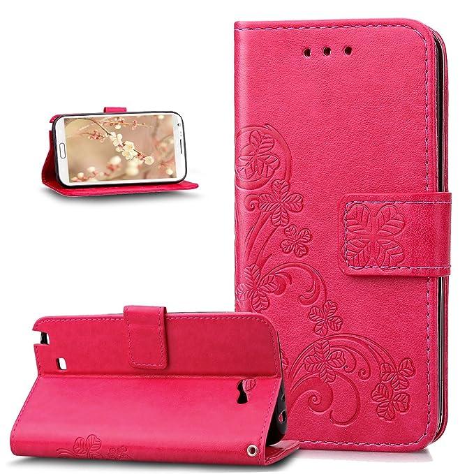 31 opinioni per Custodia Galaxy Note 2 Cover,Galaxy Note 2 Cover,ikasus Goffratura Trifoglio