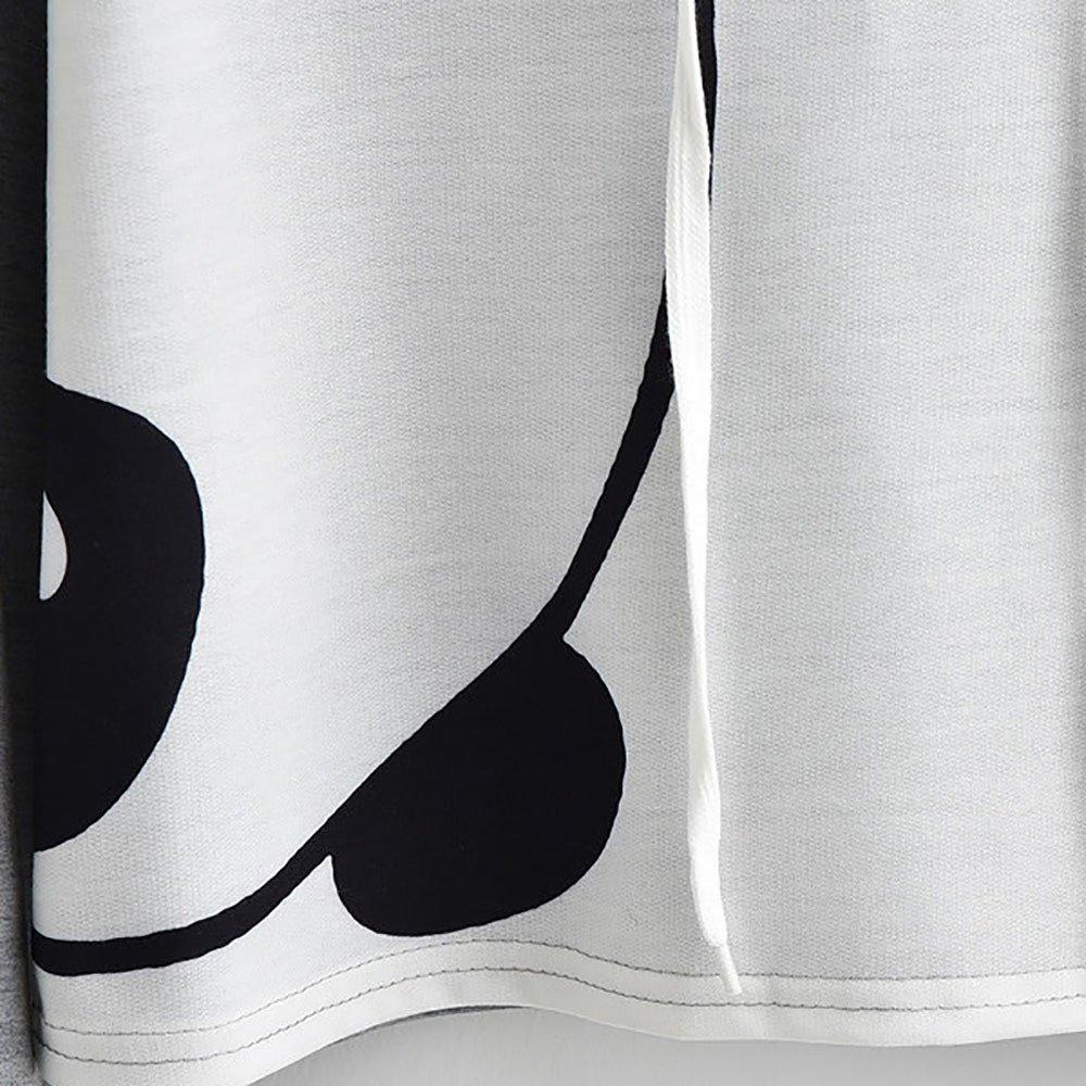 Tops Mujer Ni/ña Animal Manga Larga Cultivo Encapuchado Jersey Blusa Crop Camisa de Entrenamiento