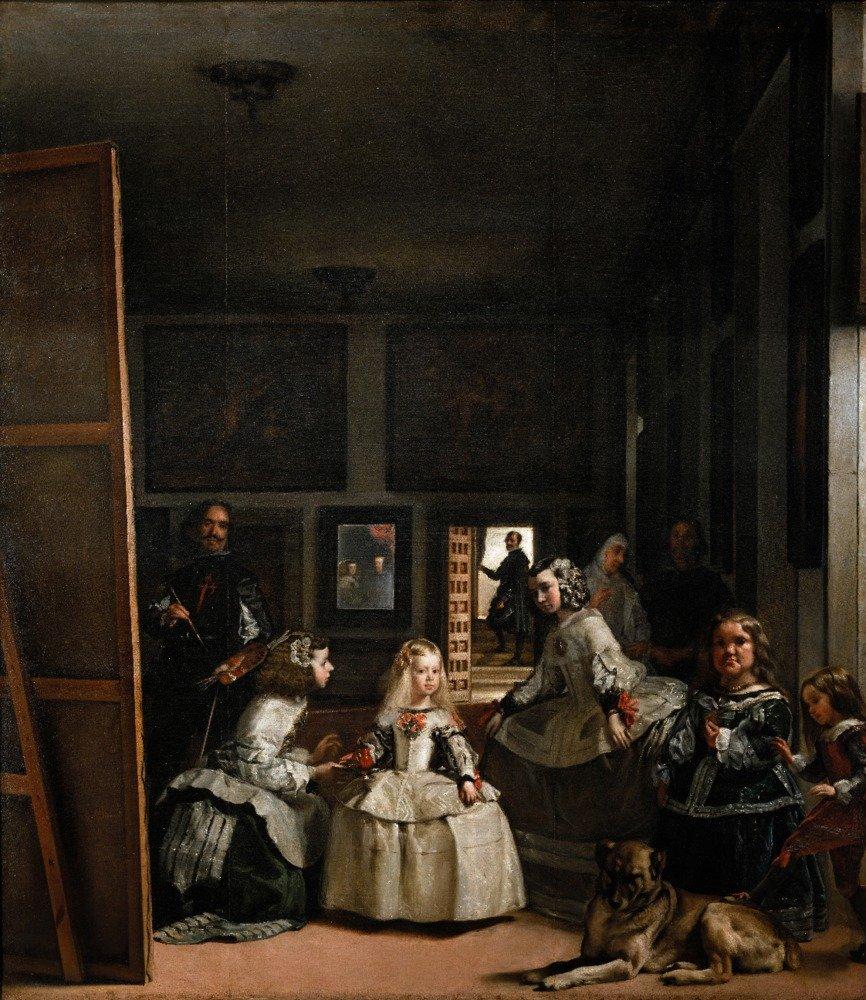 Las Meninas – 傑作クラシック – アーティスト: Diego Velazquez C。1656 16 x 24 Giclee Print LANT-57227-16x24 B017ZFGKL0  16 x 24 Giclee Print