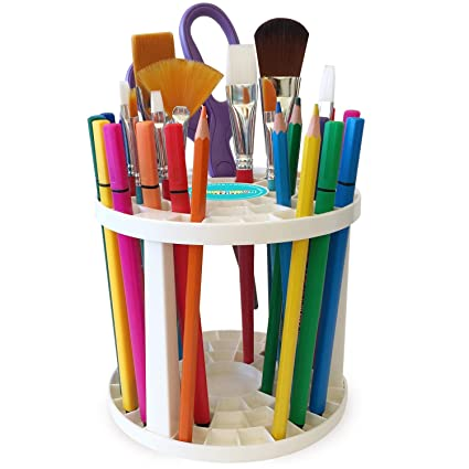 Amazon.com Paint Brush Holder , Cool Art Supply Holder for