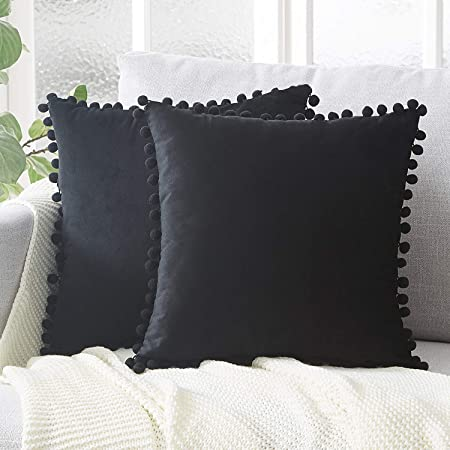 Amazon Com Top Finel Decorative Throw Pillow Covers 22 X 22 Inch