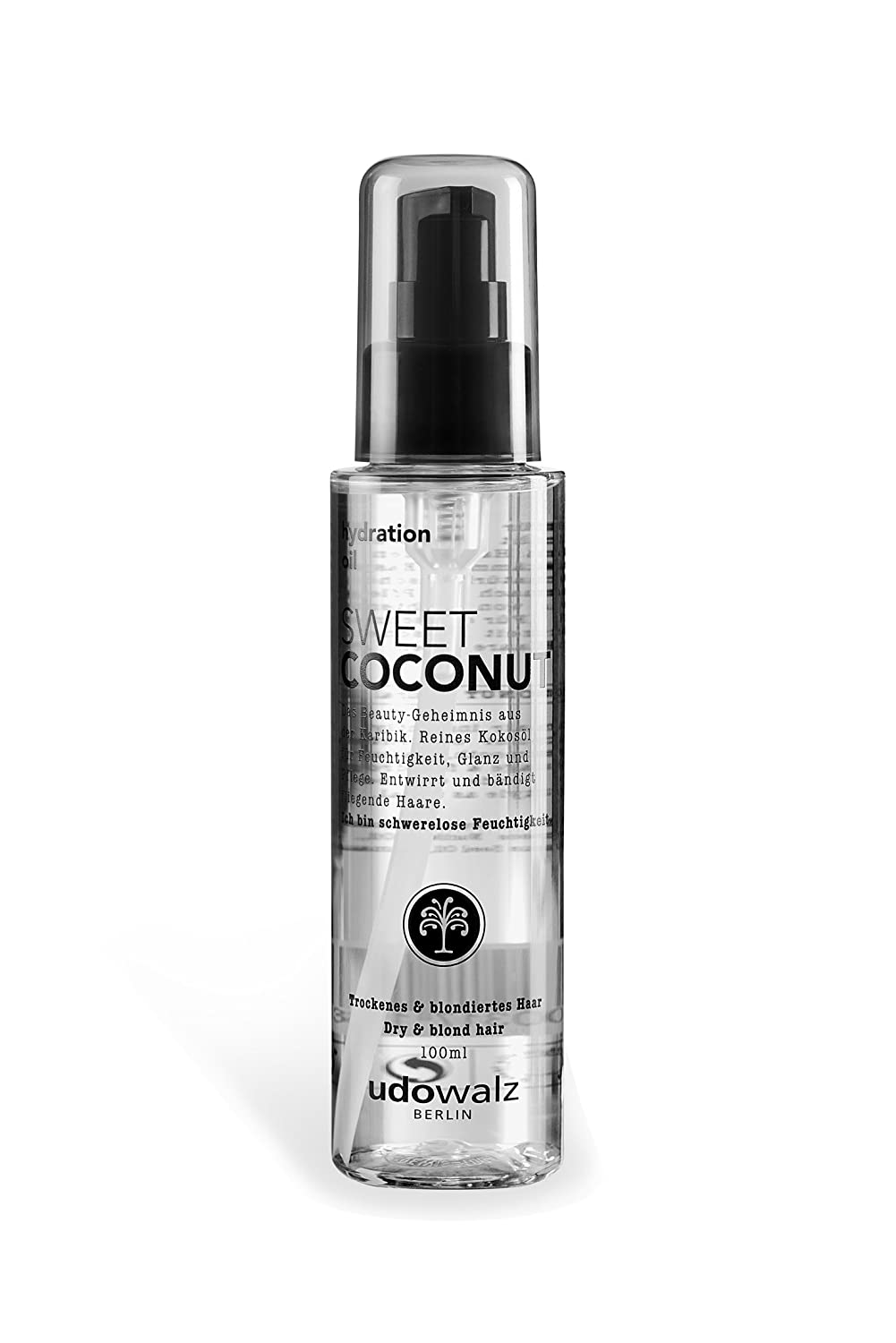 Udo Walz Hairfood Hydrating Oil Sweet Coconut, 1er Pack (1 x 100 ml) 373