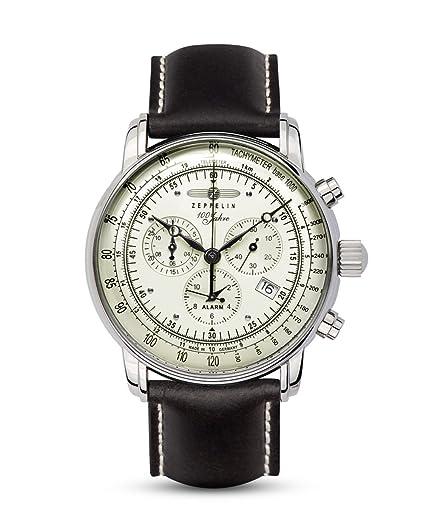 Zeppelin Mens Watch Serie 100 Jahre Zeppelin Chronograph 8680-3   Amazon.co.uk  Watches 6d21e24556