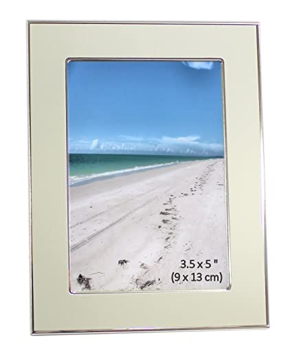 Amazon.com - Brushed Satin Silver Color & Shiny Aluminum Photo ...
