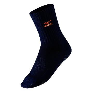 Mizuno calcetines de voleibol medio weiß - schwarz Talla:extra-large