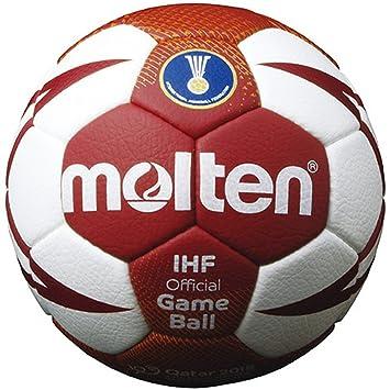 MOLTEN Handball - Pelota de Balonmano, Color Blanco ...