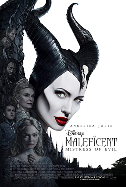 Amazon.com : MALEFICENT MISTRESS OF EVIL MOVIE POSTER 2 Sided ...