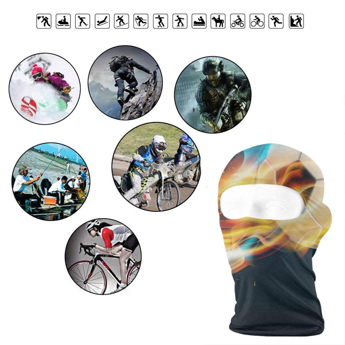 Balaclava Beautiful Cartoon Dog Full Face Masks UV Protection Ski Cap Womens Neck Warmer for Motorcycle