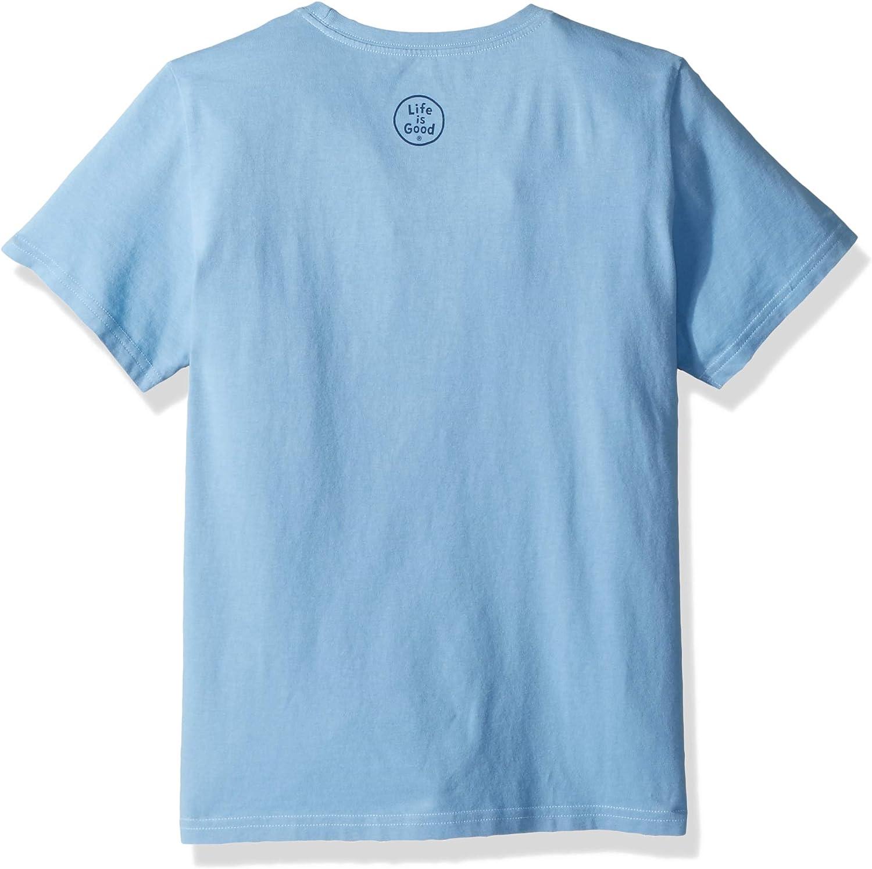 Life is Good Boys Crusher T-Shirt Athletic-t-Shirts