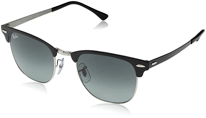 RAY-BAN 0rb3716 900471 51 Gafas de sol, Silver Top Black, 50 Unisex