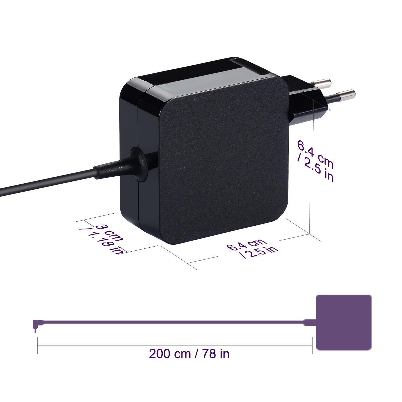 Cargador del ordenador portátil 45W 33W para Asus X541 X541S X541SA X541U X541UA X200L X200LA X553 X553M X553MA X553S X553SA X556U X556UA X556 F553 ...