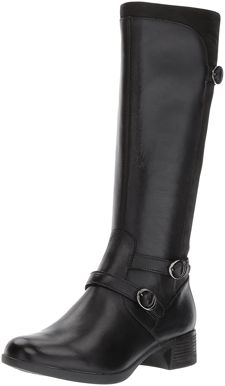 Dansko Women's Lorna Boot B01N7N25VR 42 EU/11.5-12 M US|Black Burnished Nappa