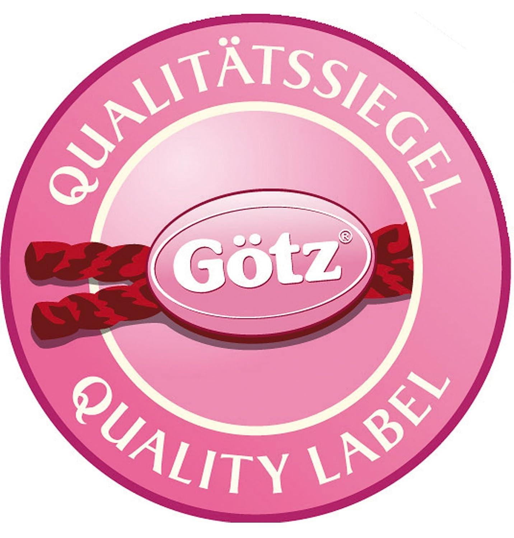 white for Gotz standing dolls 46-50 cm Gotz 3401686 Ice Skates