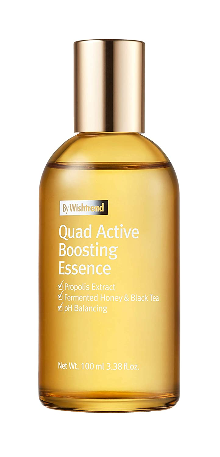 [By Wishtrend] Quad Active Boosting Essence, first essence, quad active ingredients+ propolis