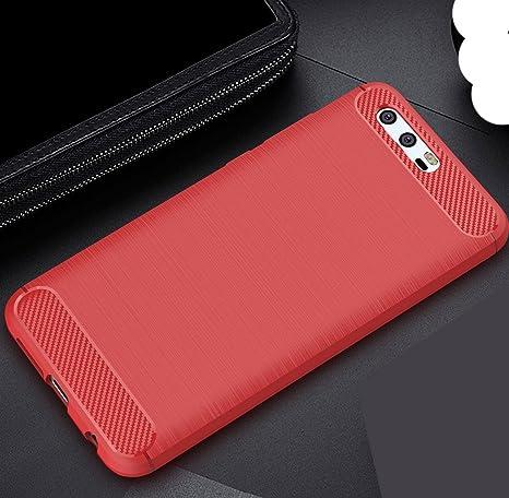 Huawei Honor V9/Honor8Pro Soft Carben Fiber Case, Very Light Slim ...