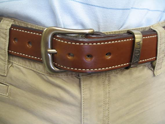 Customized Belt /& Buckle SET Personalized Accessories Hypoallergenic Coordinate Belt Buckle w Oiled Buffalo 1-12 Leather Belt for Jeans