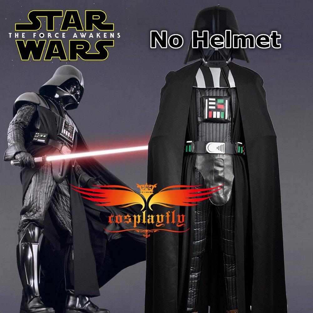 2016 Movie Star Wars Darth Vader negro versión de Cosplay personalizado  disfraz para adulto Halloween (sin casco)  Amazon.es  Juguetes y juegos d4ec4b5f933c