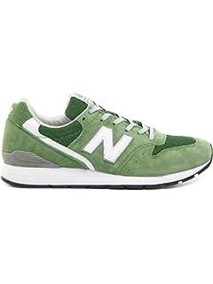 New Balance Mrl996V2, Baskets Basses Homme, Vert (Green/White), 42.5 EU