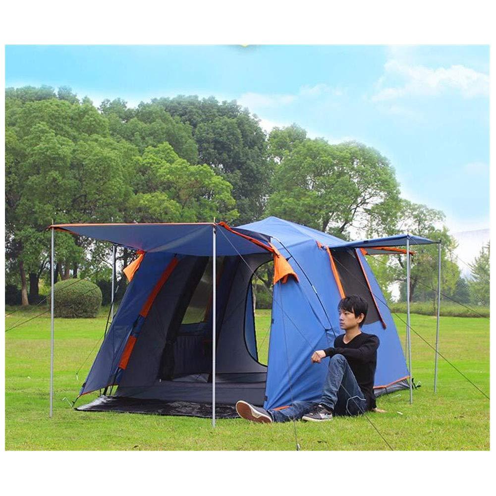 Yuhong Zelt-, vollautomatische Outdoor-Zelte 3-4 Personen Wasserdicht Doppel-Ebene Camping Breathability Zelt