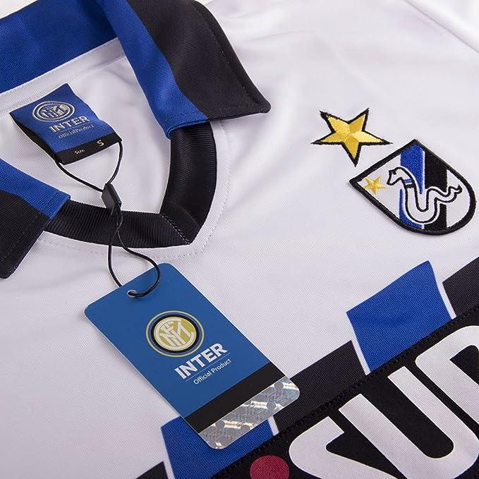 Maillot extérieur Inter Milan 1989/1990: Amazon.es: Deportes y ...