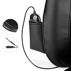 Klarfit Niuwe Massagestuhl Auflage Massage Sitzauflage für Rücken, Nacken und Gesäß, Massageauflage, Test