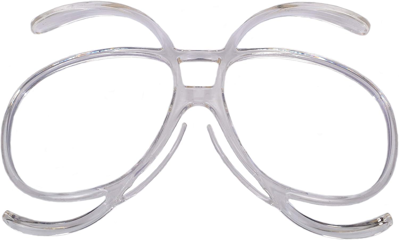 Rapid Eyewear Gafas DE Sol ESQUÍ Y Snowboard Adaptador ÓPTICO RX para usuarios de Gafas. Se ajustará a la mayoría de Las Gafas de tamaño Adulto
