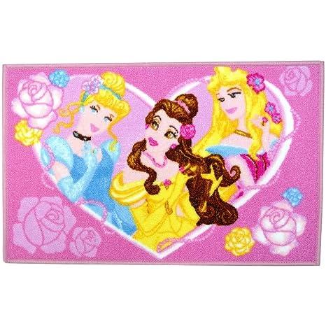 Disney - Tapis Princesse Chambre Enfant Jeux Sortie de Lit ...