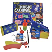 WP Magic Carnival Magic Set - 65 Tricks - Magic Illusion Tricks Trick Magician
