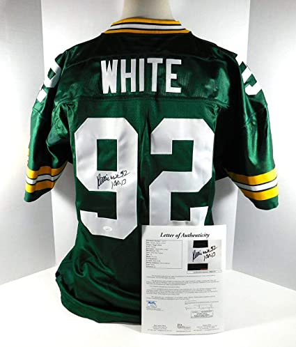 pretty nice d4f0a b8ec6 Autographed Reggie White Jersey - DA031152 - JSA Certified ...