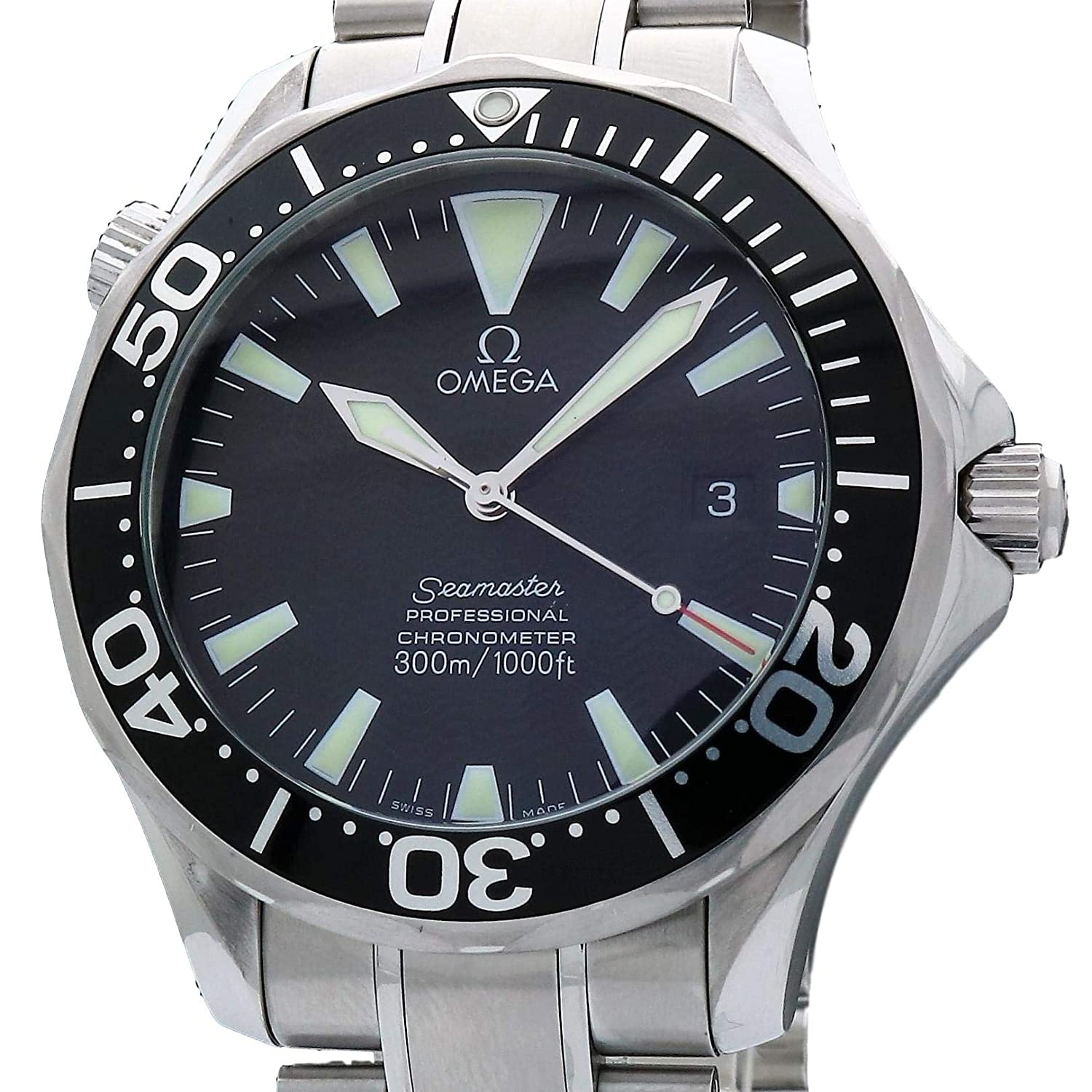 6d8257b00cfc4 Amazon.com  Omega Seamaster Swiss-Automatic Male Watch 2254.50.00  (Certified Pre-Owned)  Omega  Watches